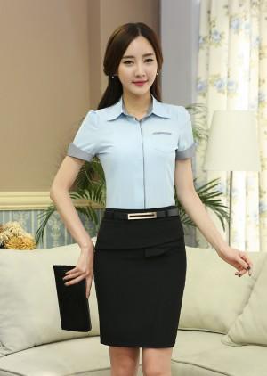 Đồng phục công sở áo sơ mi nữ 02