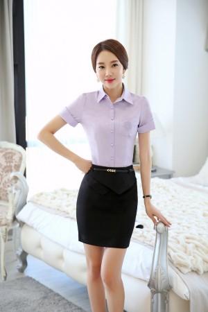 Đồng phục công sở áo sơ mi nữ 05