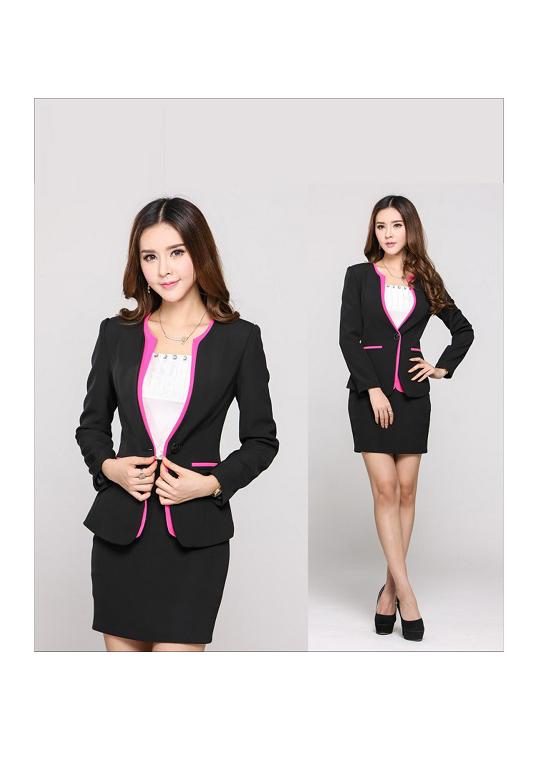 Đồng phục áo vest nữ công sở 08