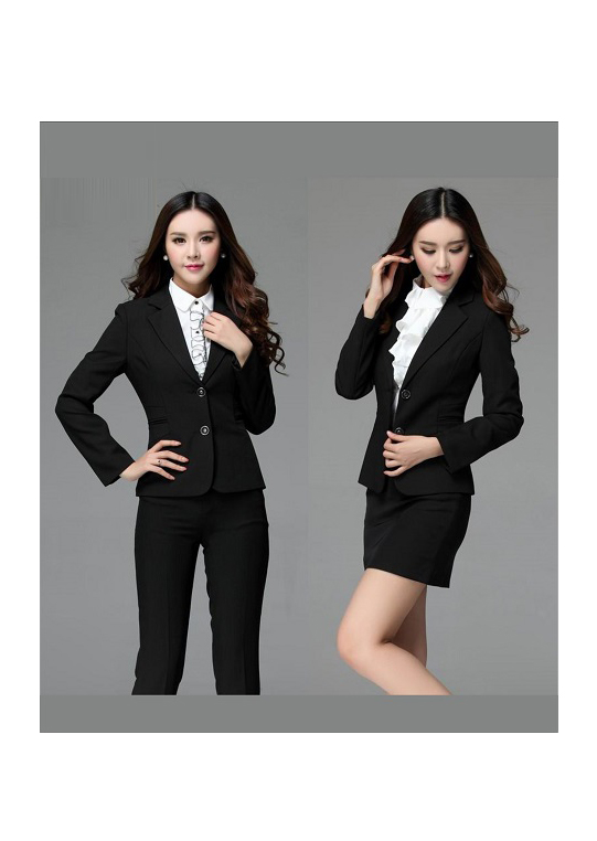 Đồng phục áo vest nữ công sở 09