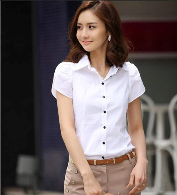 Đồng phục công sở áo sơ mi nữ 16