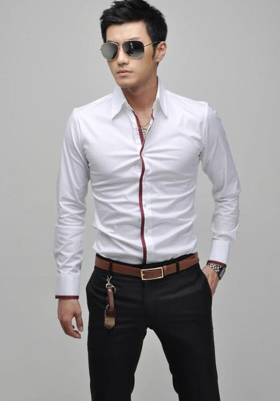 Đồng phục áo sơ mi nam công sở 21