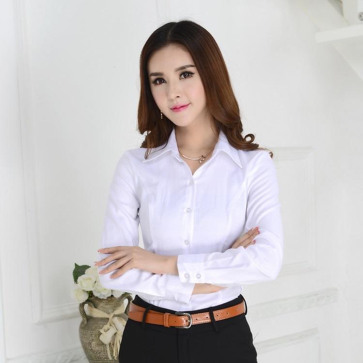 Đồng phục công sở áo sơ mi nữ 18