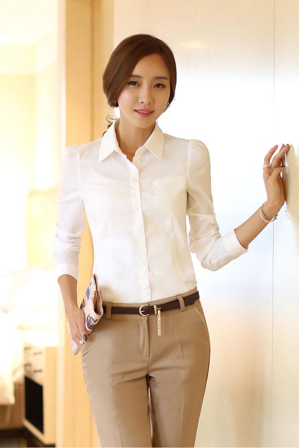 Đồng phục công sở áo sơ mi nữ 24
