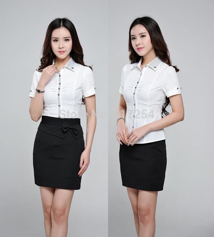 Đồng phục công sở áo sơ mi nữ 07