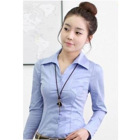 Đồng phục công sở áo sơ mi nữ 25