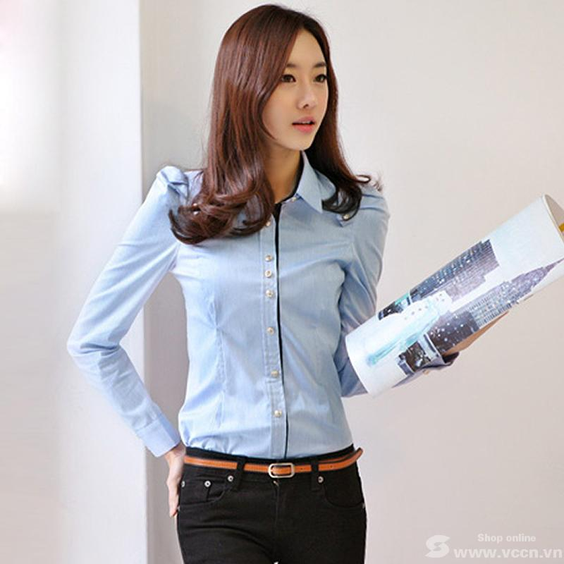 Đồng phục công sở áo sơ mi nữ 33