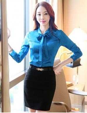Đồng phục công sở áo sơ mi nữ 23