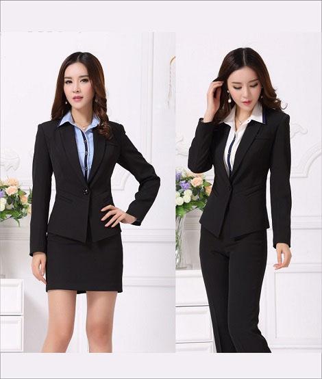 Đồng phục áo vest nữ công sở 14
