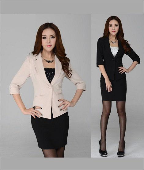 Đồng phục áo vest nữ công sở 17