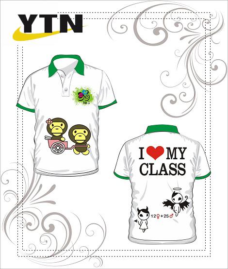 Áo phông đồng phục học sinh 26