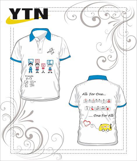 Áo phông đồng phục học sinh 30