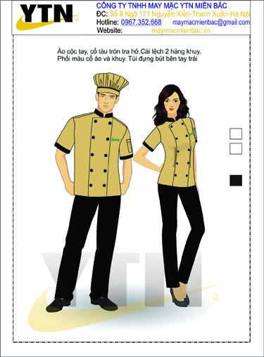 Đồng phục bếp 02
