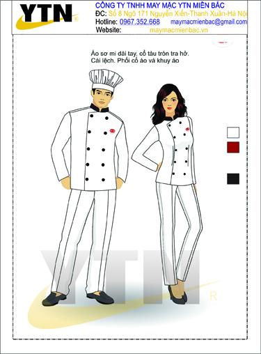 Đồng phục bếp 05