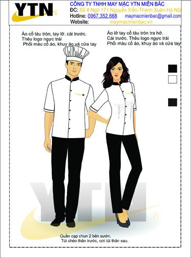 Đồng phục bếp 06