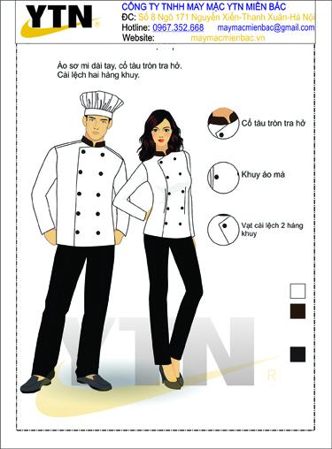 Đồng phục bếp 14