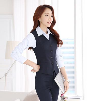 Đồng phục áo gile nữ công sở 29