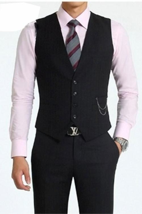 Đồng phục áo gile nam công sở 05