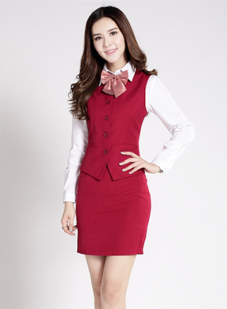 Đồng phục áo gile nữ công sở 28