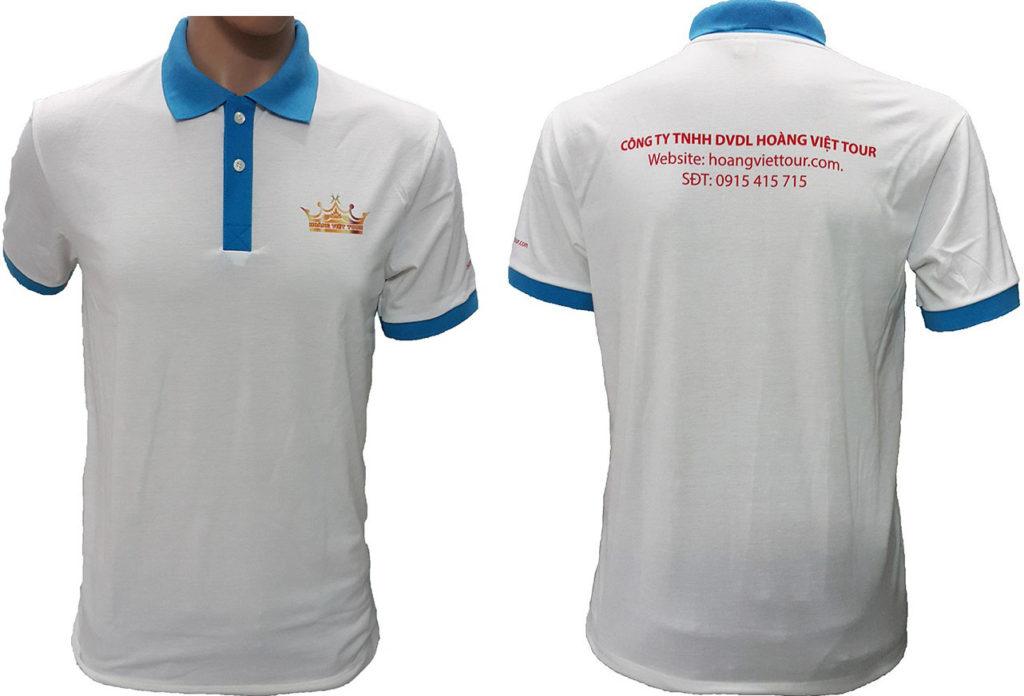 áo thun đồng phục tại Hoàng Việt Tour