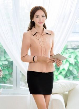 Đồng phục công sở áo sơ mi nữ 01