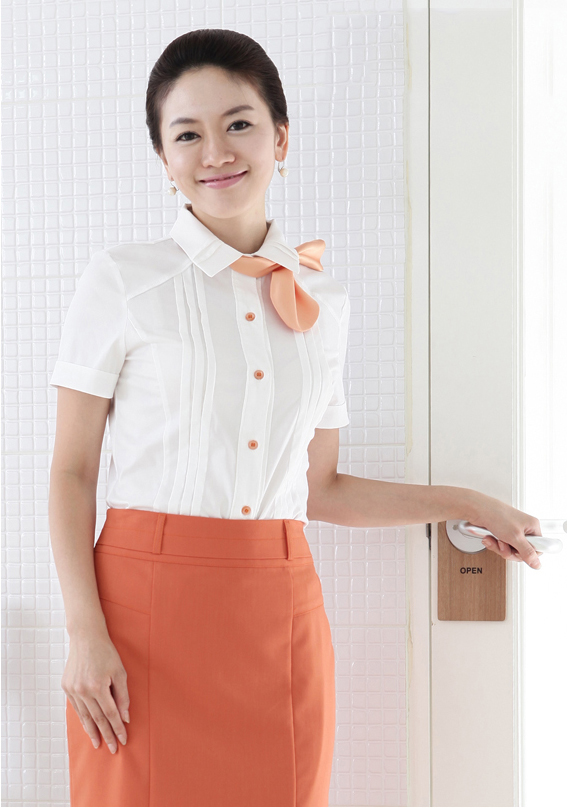 Đồng phục công sở áo sơ mi nữ 10