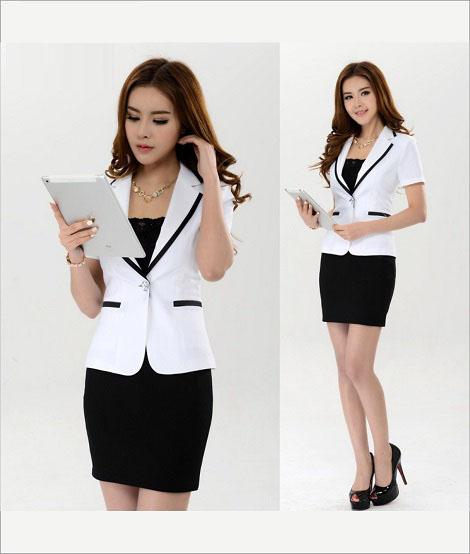 Đồng phục áo vest nữ công sở 19