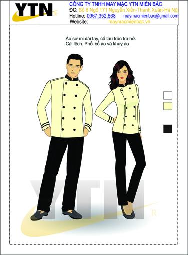 Đồng phục bếp 09