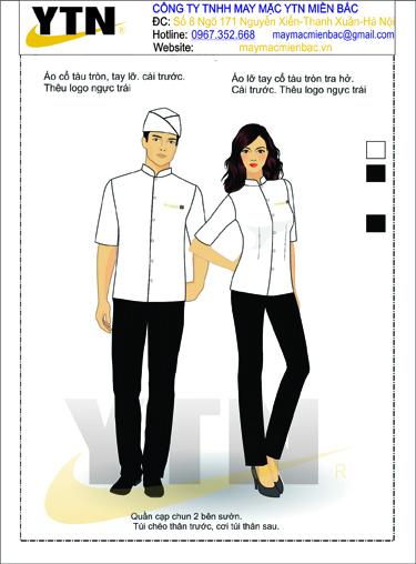 Đồng phục bếp 12