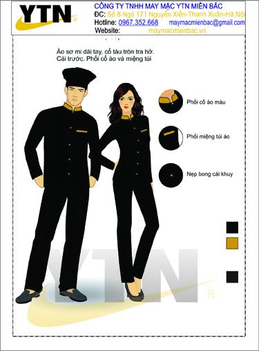 Đồng phục bếp 15