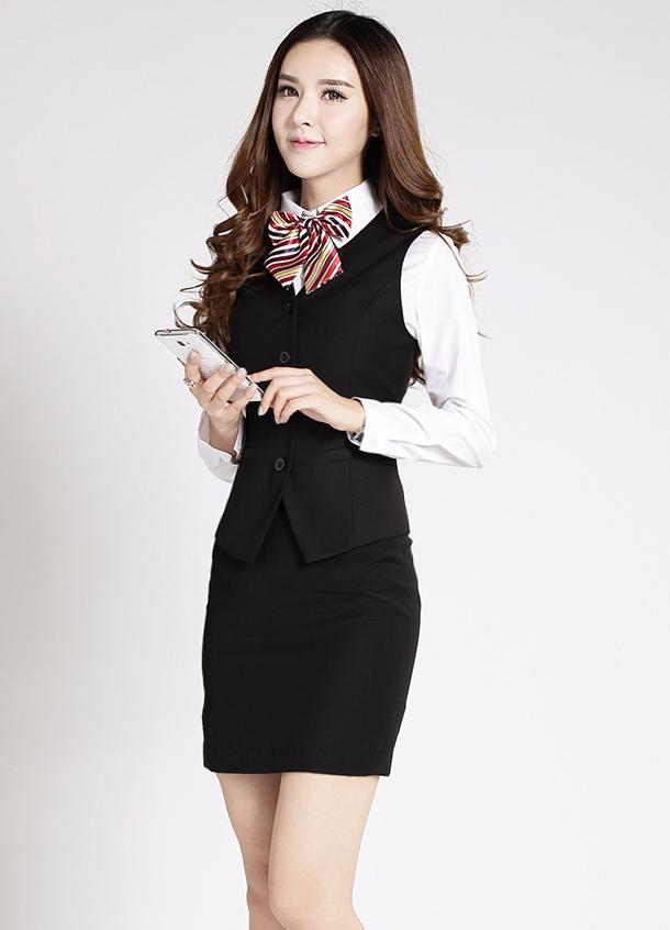 Đồng phục áo gile nữ công sở 30