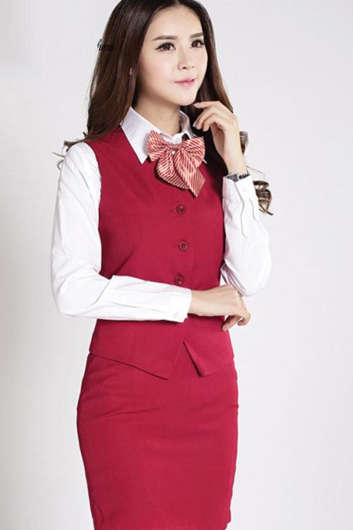 Đồng phục áo gile nữ công sở 20