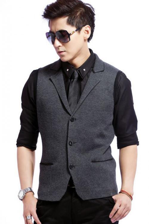 Đồng phục áo gile nam công sở 15