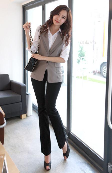 Đồng phục áo gile nữ công sở 26