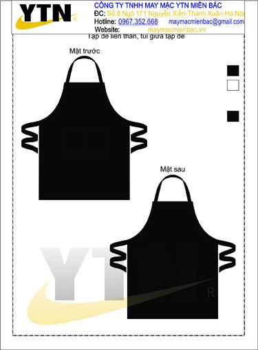 Đồng phục tạp dề 11