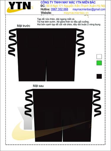 Đồng phục tạp dề 12
