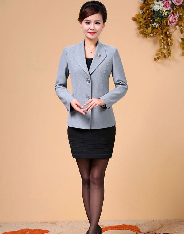 Đồng phục áo vest nữ công sở 27
