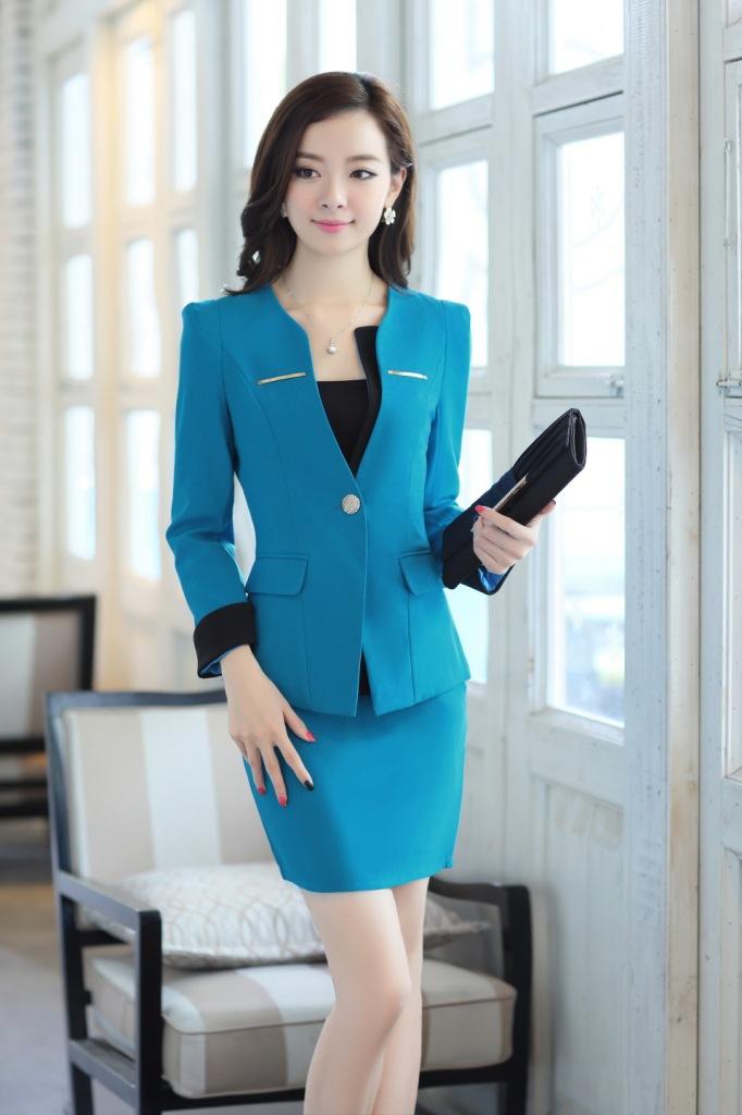 Đồng phục áo vest nữ công sở 29