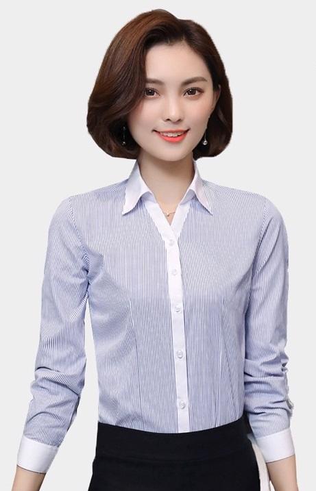 Đồng phục công sở áo sơ mi nữ 03