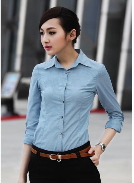 Đồng phục công sở áo sơ mi nữ 14