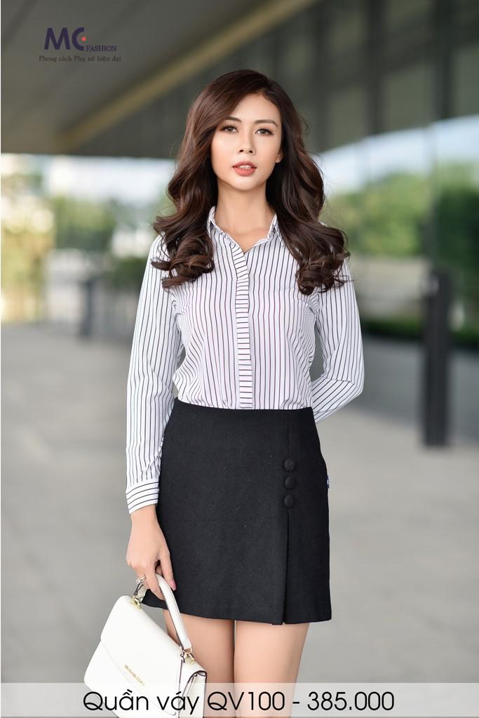 Đồng phục công sở áo sơ mi nữ 19