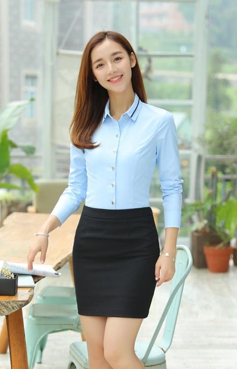 Đồng phục công sở áo sơ mi nữ 04