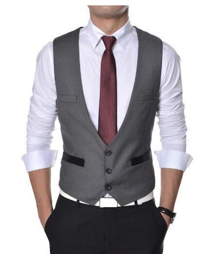 Đồng phục áo gile nam công sở 14